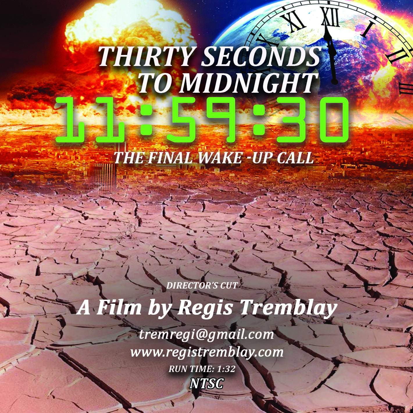Thirty Seconds to Midnight Film Poster